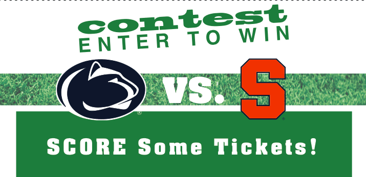 The Digest Contest: Enter to Win Tickets to the Penn State vs. Syracuse University Football Game