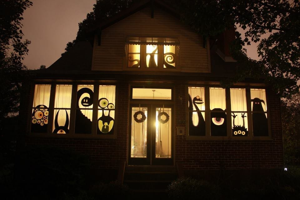 over the top halloween decorations