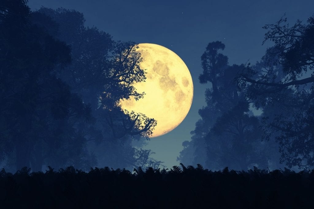 can a full moon change your mood