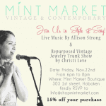 Mint Market Boutique Showcases Local Talent And Offers Discounts This Friday