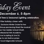 City Place's Tree & Seasonal Lighting Ceremony Rescheduled For Friday