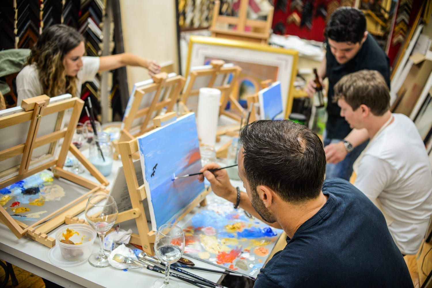 Painting the Town at Tresorie: BYOB Painting Class - The ...