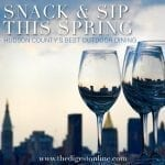 Hudson County's Best Outdoor Dining