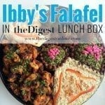 Ibby's Falafel in the Digest Lunch Box