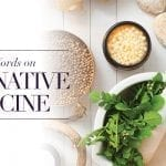 A Few Words on Alternative Medicine