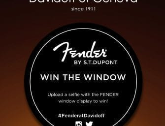 #FenderAtDavidoff Win The Window Contest