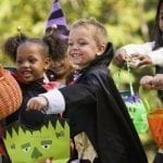 Halloween Candy Buyback at Blooming Smiles