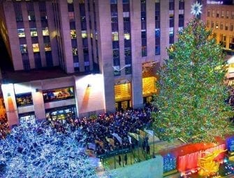 NYC Rockefeller Tree Lighting Ceremony