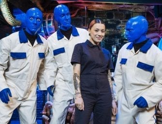 A New Look for Blue Man Group