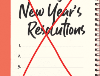 The No Resolution New Year