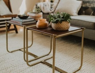 6 Fresh Tips For Decorating Your Coffee Table