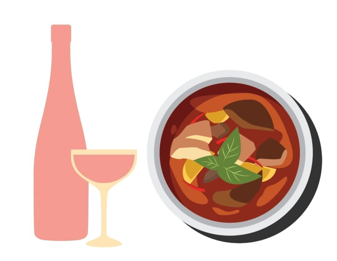 wine pairings for takeout