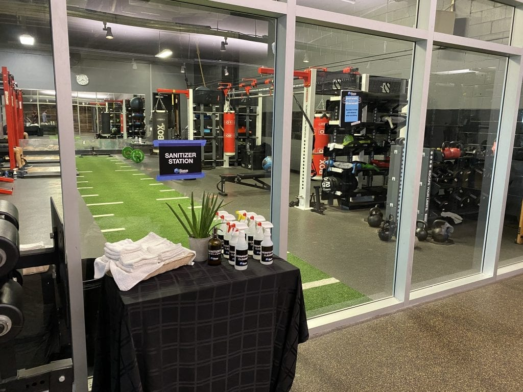 Reopening a gym in New Jersey