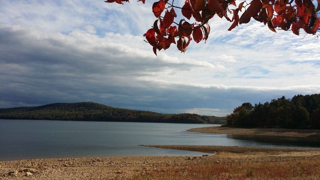 Round Valley Resevoir Fall Foliage