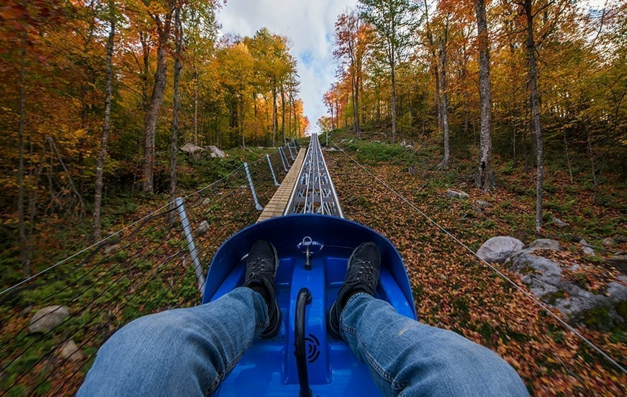 America's longest mountain coaster