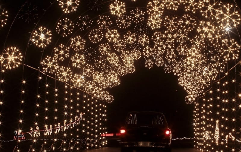 Christmas lights in South Jersey