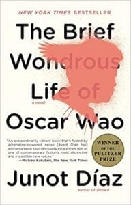 "Cover of Junot Díaz's novel ""The Brief Wondrous Life of Oscar Wao""."