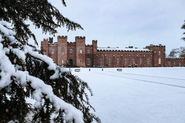 Image of Scone Palace in Perthshire, UK