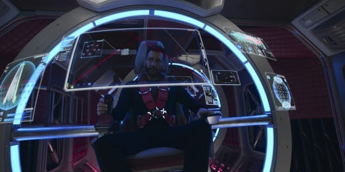 Piloting a ship in The Expanse
