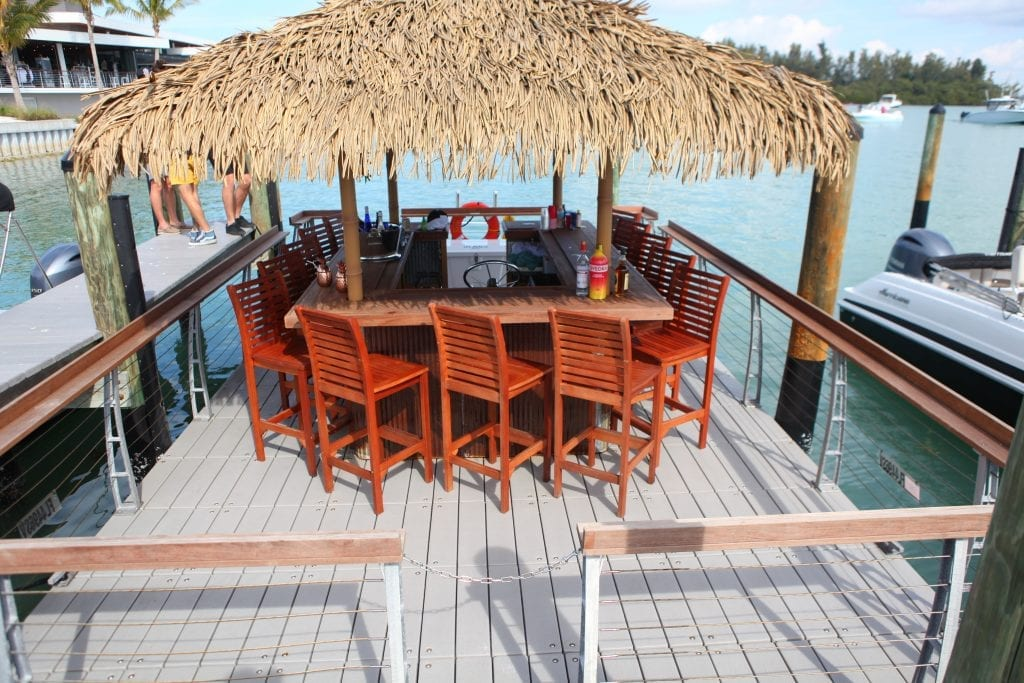 floating tiki bar new jersey